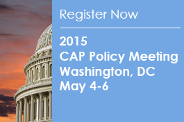 Save the date. CAP Policy Meeeting