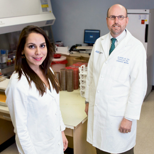 "Dr. James Musser and Dr. Katherine Perez showed how patient care improves and money is saved when MALDI-TOF mass spec, susceptibility testing, and antimicrobial stewardship are linked. ""You get a bit of a sticker shock at first,"" Dr. Musser says, ""but the downstream cost savings are tremendous."""