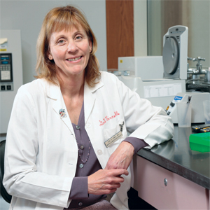 Genetic mutations—primarily FLT3, CEBPA, and NPM1—have been part of the acute myeloid leukemia picture since 2008, says Dr. Gail Vance, whose lab at Indiana University tests for the mutations in cases of AML with normal chromosomes. A recent ECOG trial found those three to have some company.