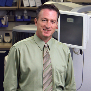 "Craig Krentz, MT(ASCP), laboratory director at Regional West Medical Center, where the outreach program is going strong. ""Outreach makes you a better lab,"" Krentz says."