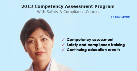 2013 Competency Assessment Program