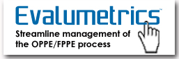 Evalumetrics - Streamline management of the OPPE/FPPE process